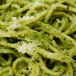 Got greens that are starting to wilt? Pesto sauce