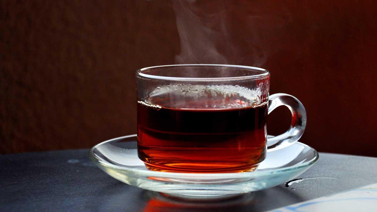 A cup of warm tea