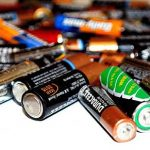 I recycle, reuse, refill: batteries