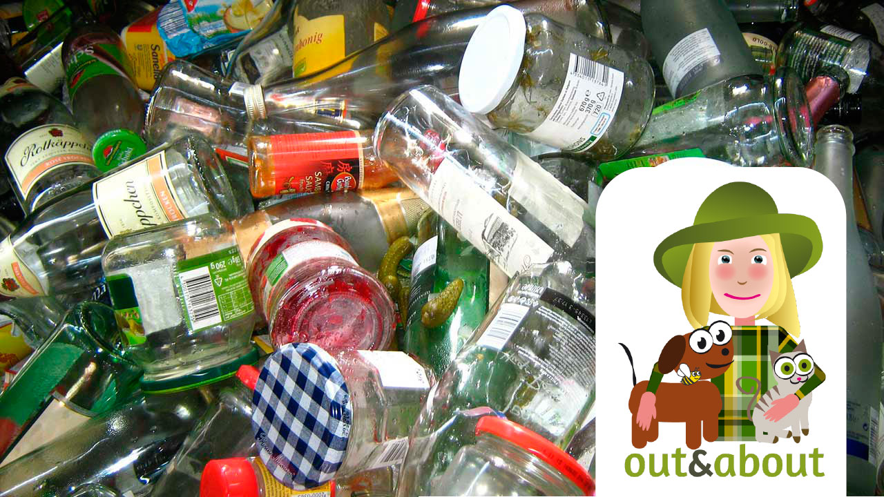 out and about: I recycle, reuse, refill: