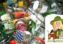 out and about - I-recycle-reuse-refill-feat